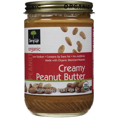Tree Of Life Creamy Organic Peanut Butter, 16 oz