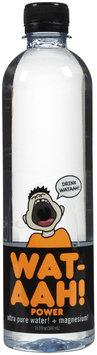 Wat Aah Wat-Aah Power Pure & Magnesium Water, 16.9 oz, 12 ct