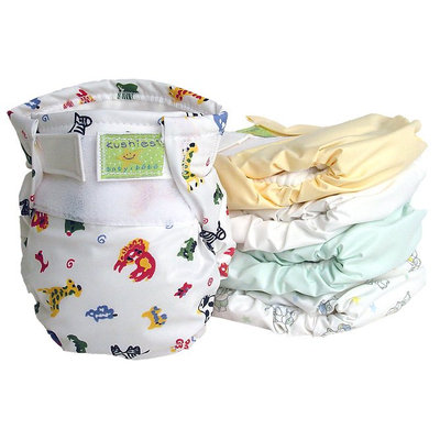 Kushies Ultra All-in-One Infant Diaper - 5 Pack - 5 ct.