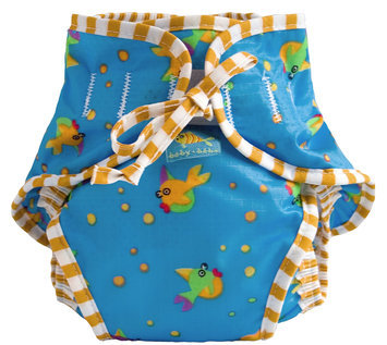 Kushies Reusable Swim Diaper - Goldfish Print Medium - 1 ct.