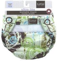 Kushies Ultra Lite Single Diaper - Green - 1 ct.