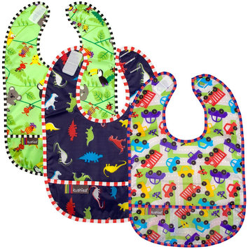 Kushies Baby Taffeta Waterproof Bib - Boy - 3 Pk - 1 ct.