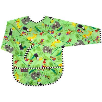 Kushies Taffeta Waterproof Bib With Sleeves (Aussie) - Toddler
