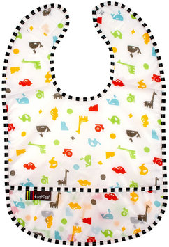 Kushies Kushies Baby Taffeta Waterproof Bib - Animals - 3 Pk - 1 ct.