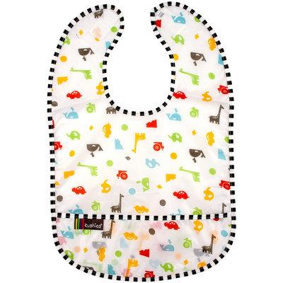 Kushies Kushies Baby Taffeta Waterproof Bib - Animals - 3 Pk - 1 ct.