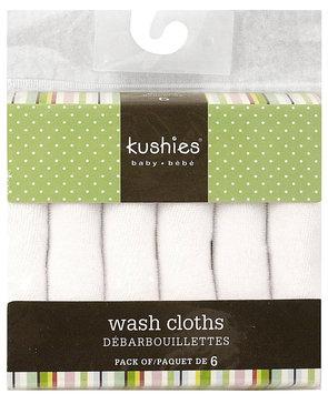Kushies Washcloth Set - 6 pk