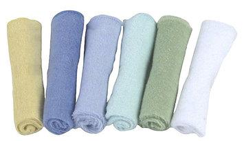 Kushies Washcloth Set - Boy - 6 pk