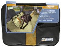 Kurgo Wander Hammock Dog Seat Cover Black