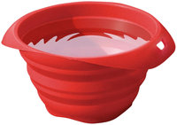 Taylor Gifts Hunter K9 Designs KUR1136 Collaps-a-Bowl for Pet Travel - Red