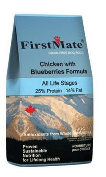 FirstMate Pet Foods Chicken with Blueberries Dog Food - 5 lb