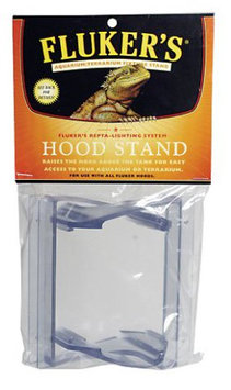 Flukers Hood Stand: Repta Hood Stand #39015 - Reptile Lighting Accessories