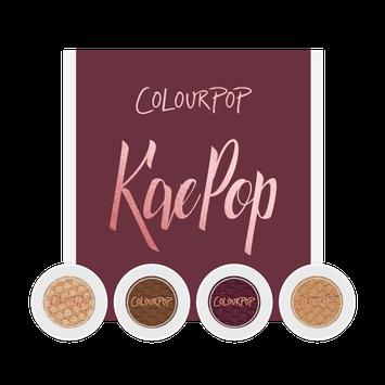ColourPop KaePop Super Shock Shadow Set
