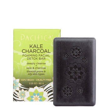 Pacifica Kale Charcoal Foaming Facial Detox Bar