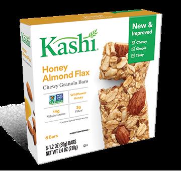 Kashi® Chewy Granola Bars Honey Almond Flax