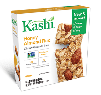 Kashi® Chewy Granola Bars Honey Almond Flax
