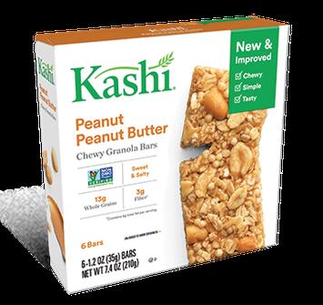 Kashi® Chewy Granola Bars Peanut Peanut Butter