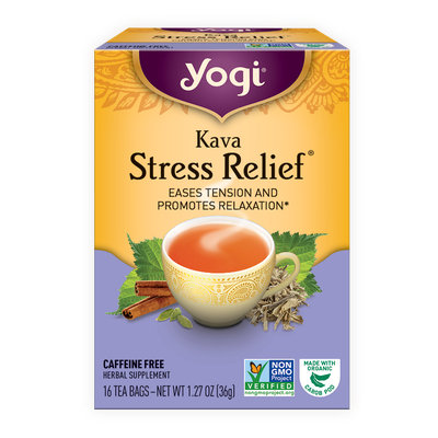 Yogi Tea Kava Stress Relief
