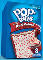 Kellogg's Pop-Tarts Frosted Red Velvet Toaster Pastries