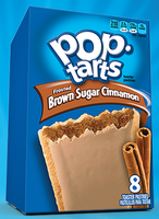Pop-Tarts Frosted Brown Sugar Cinnamon Toaster Pastries