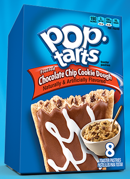 Kellogg's Pop-Tarts Frosted Chocolate Chip Cookie Dough Toaster Pastries