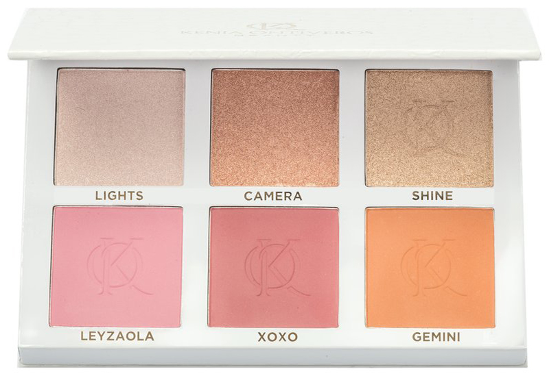 Kenia Ontiveros Blush & Shine Kit