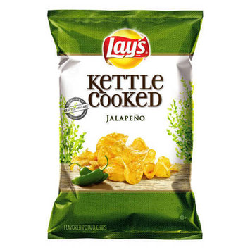Lay's® Kettle Cooked Jalapeno Flavored Potato Chips