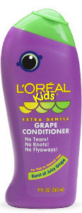 L'Oréal Paris Kids Extra Gentle Grape Conditioner for Thin to Normal Hair