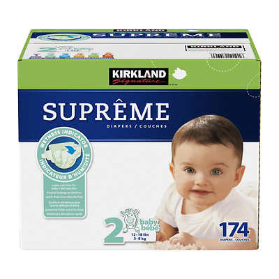 Kirkland Signature Supreme Diapers Size 2