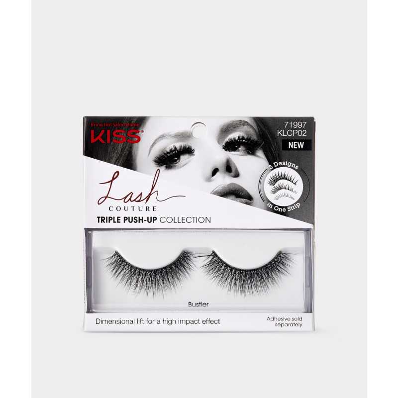 Kiss Bustier Lash Couture Triple Push-up Collection