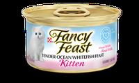 Fancy Feast® Gourmet Wet Kitten Food With Tender Ocean Whitefish