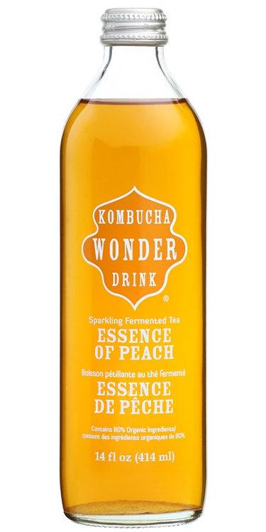 Kombucha Wonder Drink Bottled Essence of Peach