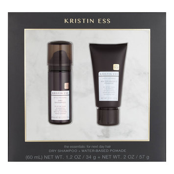 Kristin Ess Dry Shampoo + Water Based Pomade