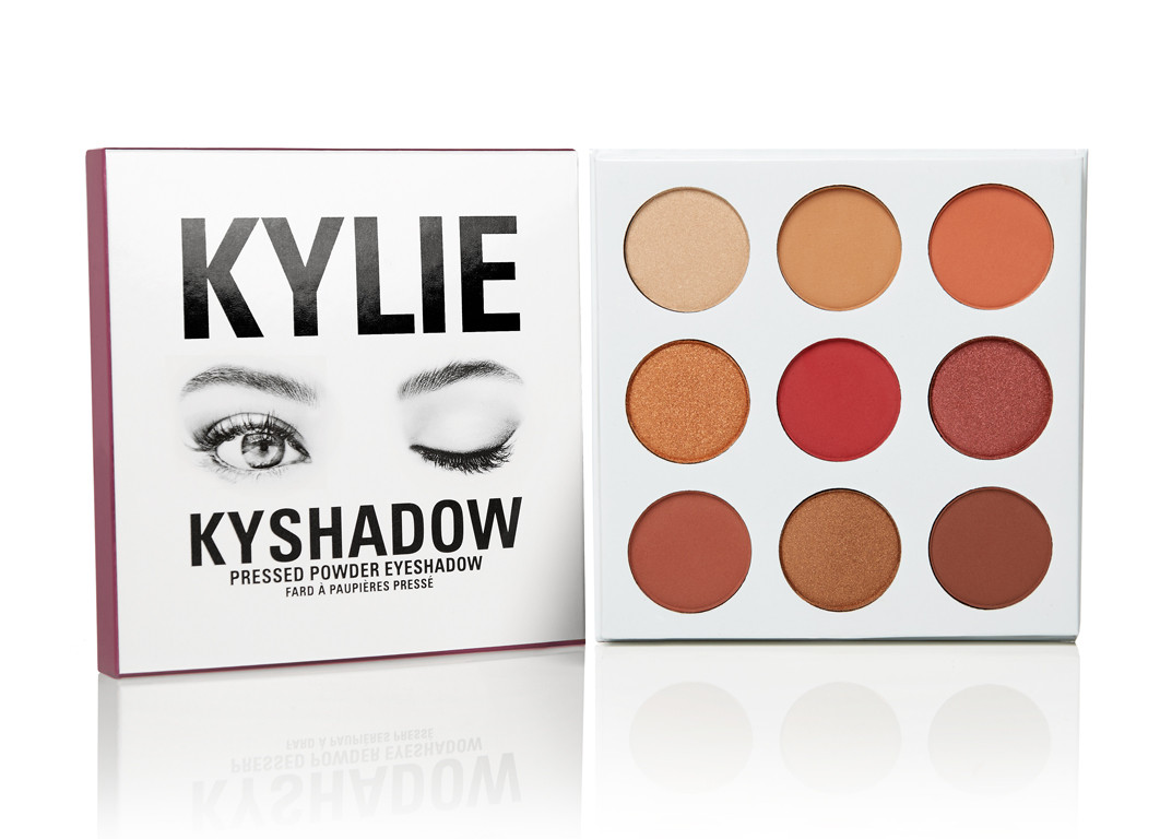 Kylie Cosmetics The Burgundy Palette Kyshadows