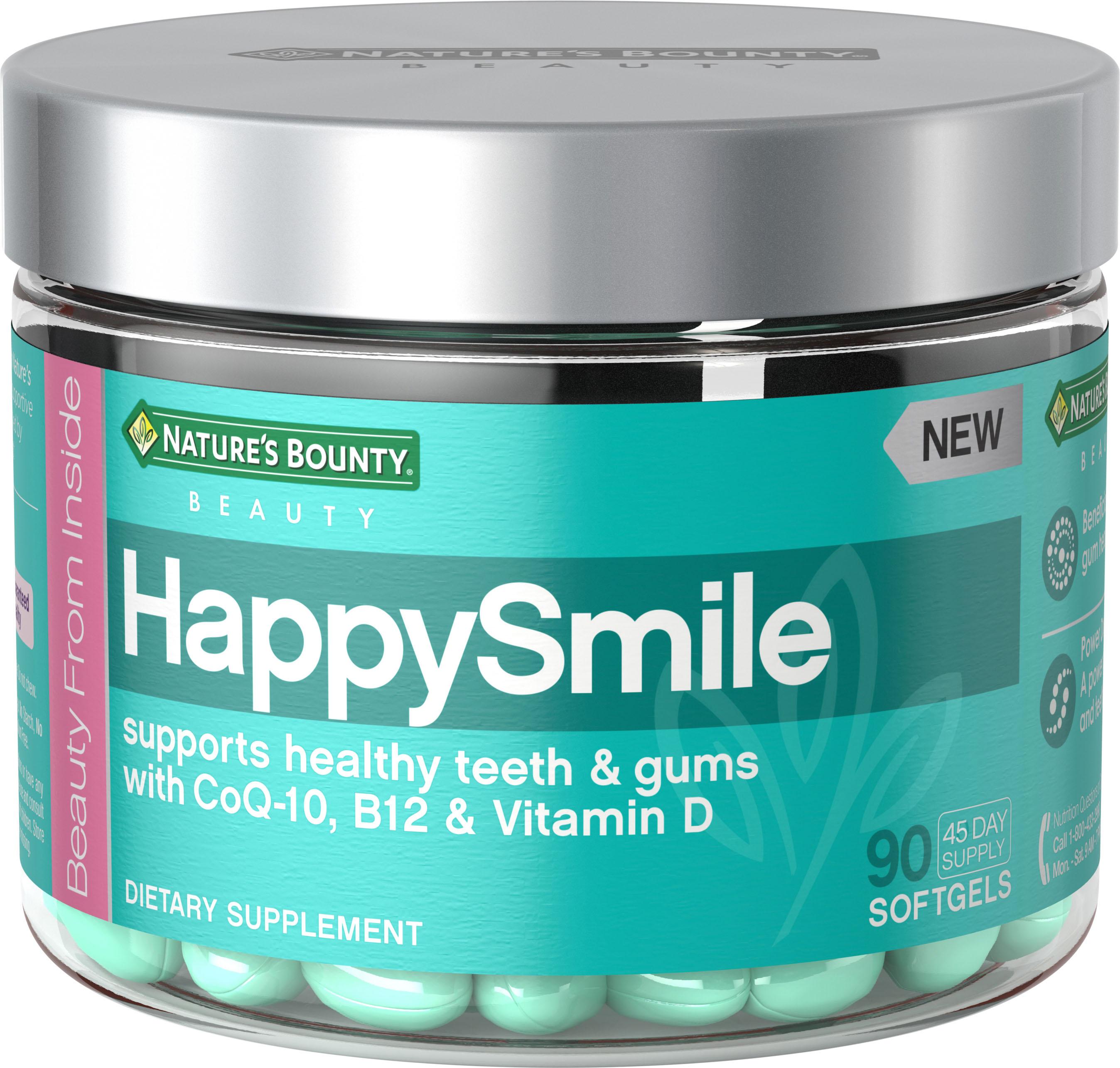 Nature's Bounty Beauty Gel Supplements - HappySmile