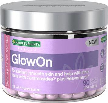Nature's Bounty® GlowOn Dietary Supplement Beauty Gel