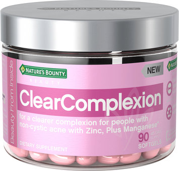 Nature's Bounty Beauty Gel Supplements - ClearComplexion