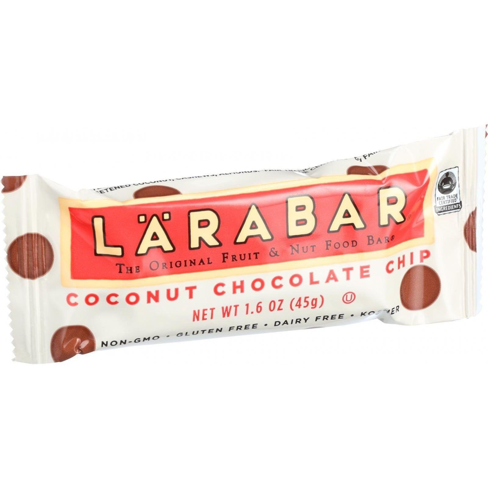 LARABAR® Coconut Chocolate Chip Bars Fruit & Nut
