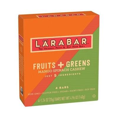 LARABAR® Fruits + Greens Mango Spinach Cashew Bars Fruit & Nut