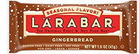 LARABAR® Gingerbread Bars Fruit & Nut