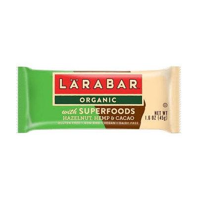 LARABAR® Organic With Superfoods Hazelnut Hemp Cacao Bars Fruit & Nut