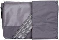 Habermaass Corporation Lassig Casual Messenger Style Diaper Bag - Patchwork Grey