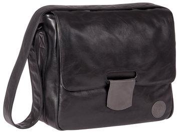 L Ssig Lassig Tender Messenger Diaper Bag in Black