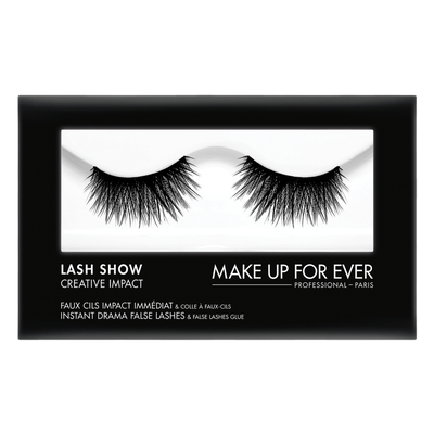 MAKE UP FOR EVER Lash Show - C-708 Instant Drama False Lashes & False Lashes Glue - Creative Impact