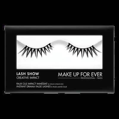 MAKE UP FOR EVER Lash Show - C-803 Instant Drama False Lashes & False Lashes Glue - Creative Impact