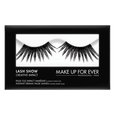 MAKE UP FOR EVER Lash Show - C-806 Instant Drama False Lashes & False Lashes Glue - Creative Impact