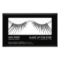 MAKE UP FOR EVER Lash Show - C-811 Instant Drama False Lashes & False Lashes Glue - Creative Impact