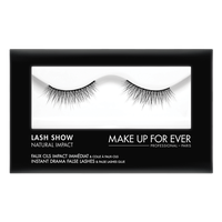 MAKE UP FOR EVER Lash Show - N-101 Instant Drama False Lashes & False Lashes Glue - Natural Impact