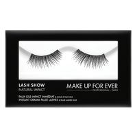 MAKE UP FOR EVER Lash Show - N-104 Instant Drama False Lashes & False Lashes Glue - Natural Impact
