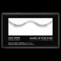 MAKE UP FOR EVER Lash Show - N-202 Instant Drama False Lashes & False Lashes Glue - Natural Impact