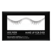 MAKE UP FOR EVER Lash Show - N-205 Instant Drama False Lashes & False Lashes Glue - Natural Impact